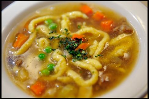 Spätzle Soup